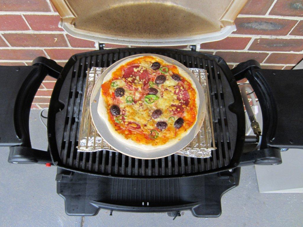 weber pizza stone instructions