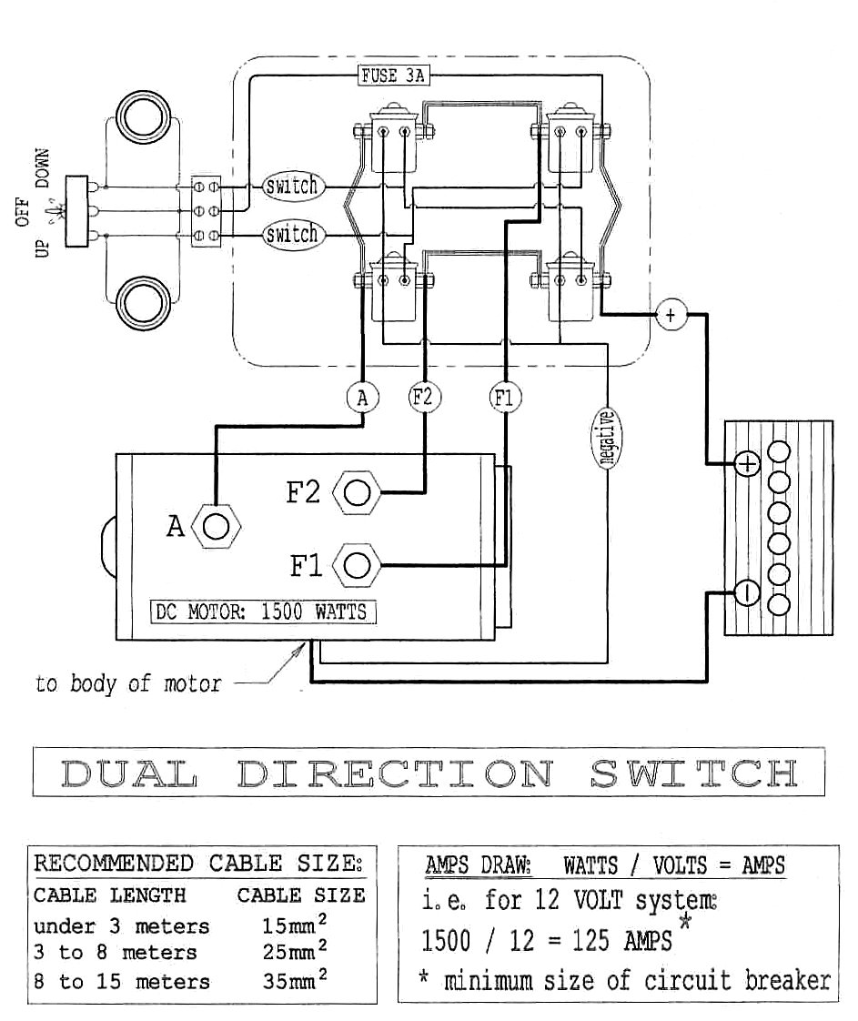 Winch Isolator Switch Wiring Diagram : Winch isolator